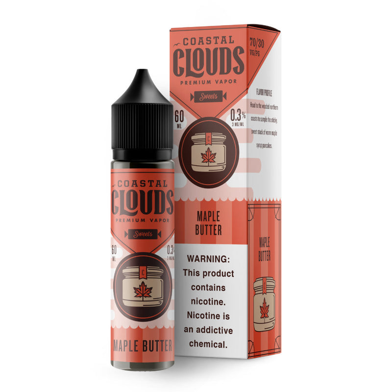 Coastal Clouds Maple Butter 60ml