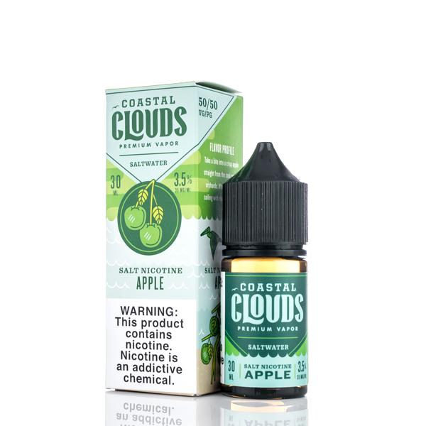 Coastal Clouds Salt Nic Apple 30ml