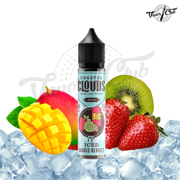 Coastal Clouds Mango Berries Iced 60ml