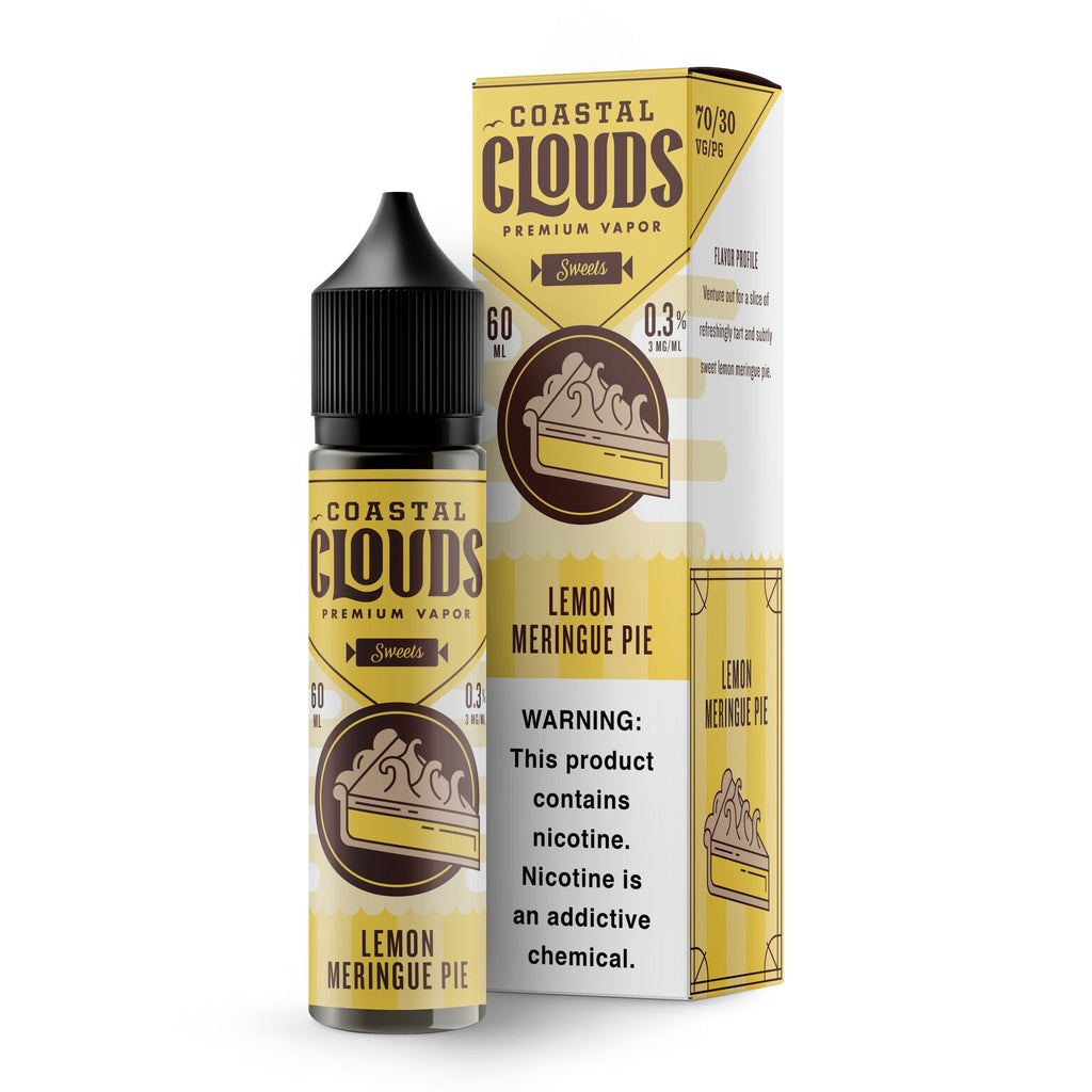 Coastal Clouds Lemon Meringue Pie 60ml