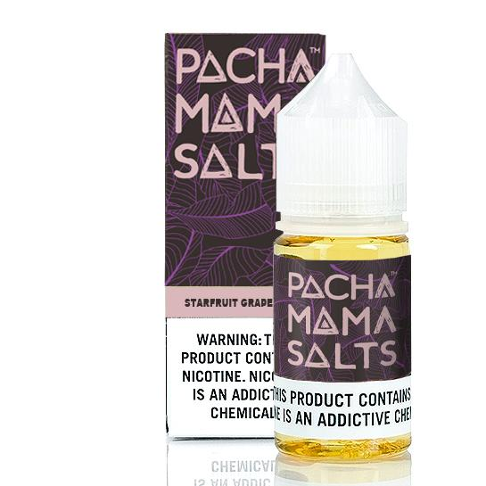 Pachamama Salt Nic Starfruit Grape 30ml