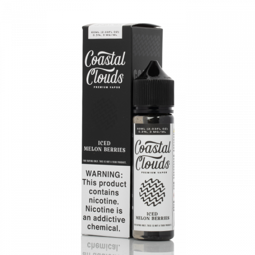 Coastal Clouds 60ml Iced Melon Berries