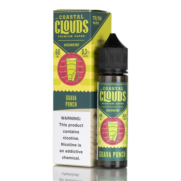 Coastal Clouds Guava Punch 60ml