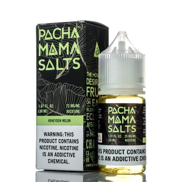 Pachamama Salt Nic Honeydew Melon 30ml