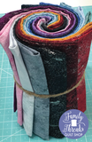 Fat Quarter Silver Luxe Fabric Bundle