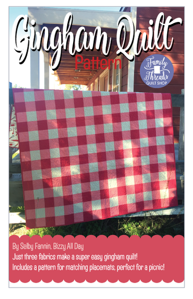 gingham scrappy tutorial patterns pattern squares baby granny quilt