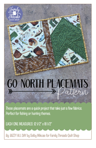 Go North Placemat Pattern