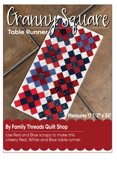 Granny Squared Table Runner Pattern
