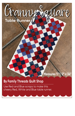 Granny Squared Table runner