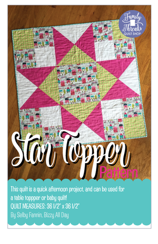Star Topper Pattern