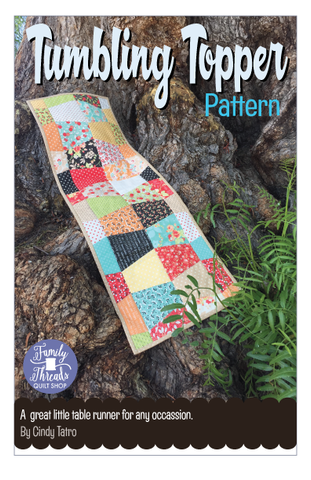 Tumbling Topper Pattern