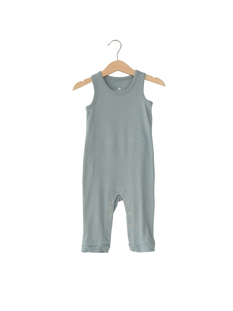 Modern Burlap - Organic Tank Jumpsuit with Explorer Back | Tradewinds
