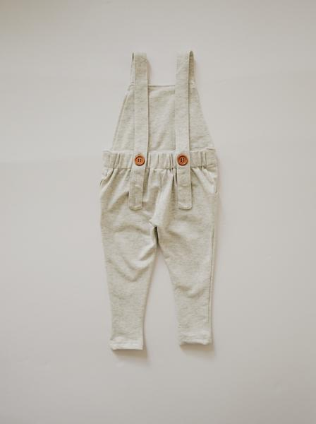 Orcas Lucille - Long Overalls - Wheat- Pre-order (will ship in 10-14 days)