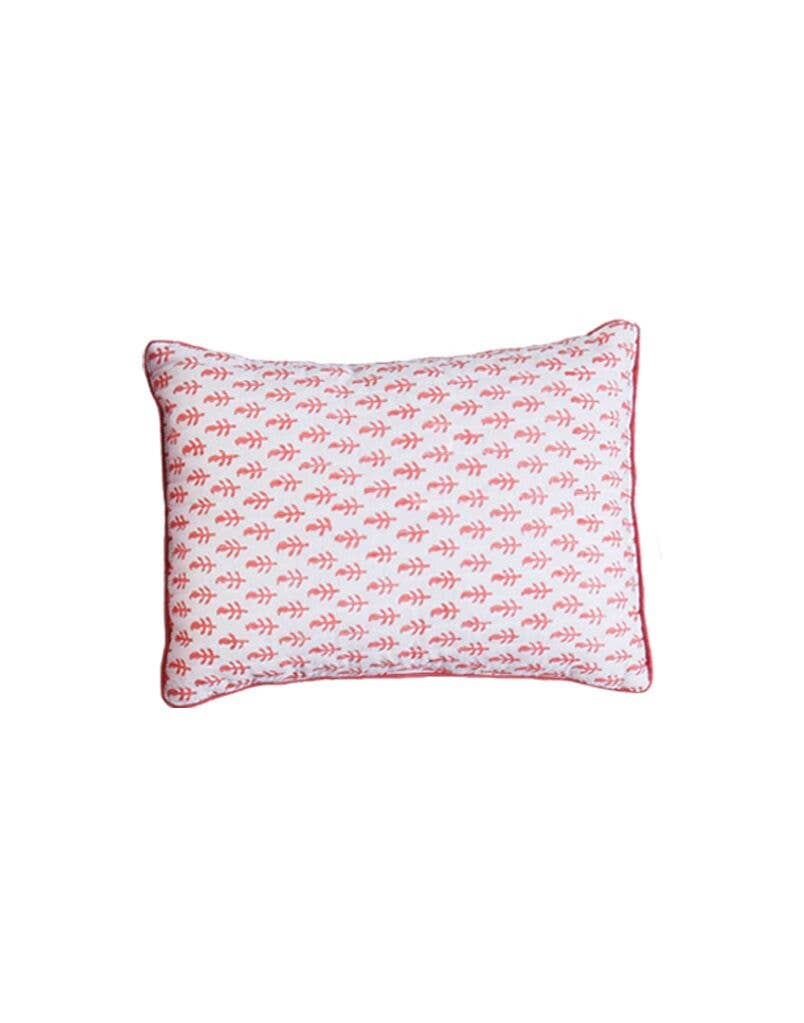 MALABAR BABY -  HANDMADE LUXURY FOR ALL - Handmade, Block-Printed Decorative Cotton Cushion