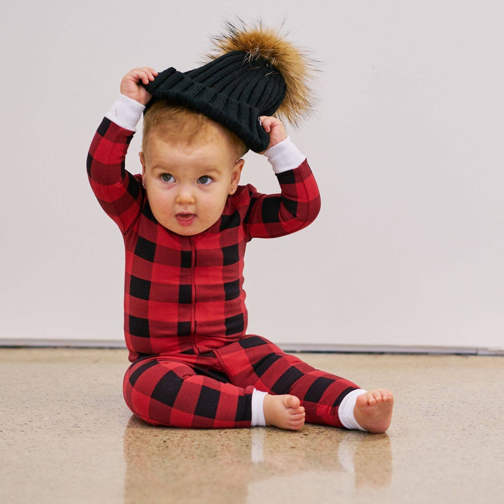 Tiny Trendsetter - (Lola & Taylor) - Country Moose Infant Romper