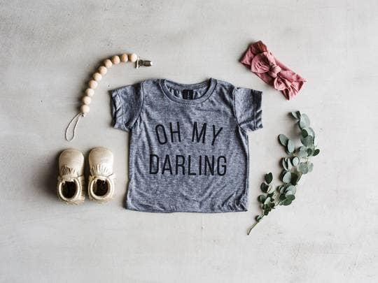 The Oyster's Pearl - Oh My Darling Baby Tee