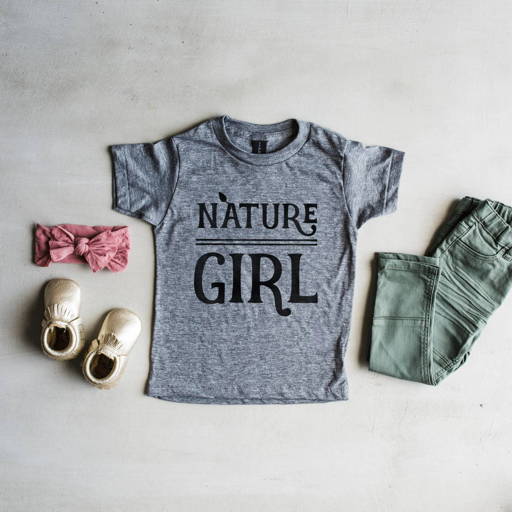 The Oyster's Pearl - Nature Girl Kids Tee