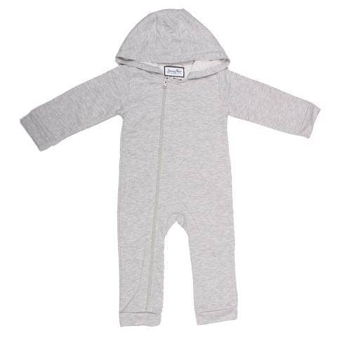 Young and Free Apparel - Cuddlesuit // Solid Grey