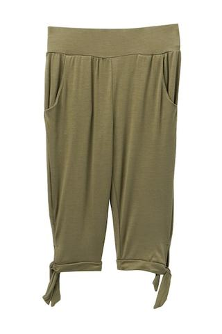 Young and Free Apparel - Tie Capris - Olive