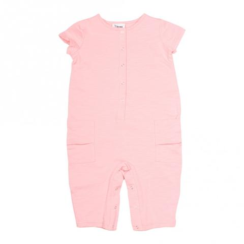 Young and Free Apparel - Pink Romper