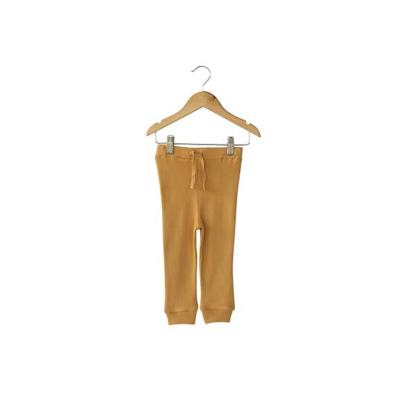 Modern Burlap - Baby + Child Organic Faux Drawstring Pant | Honey
