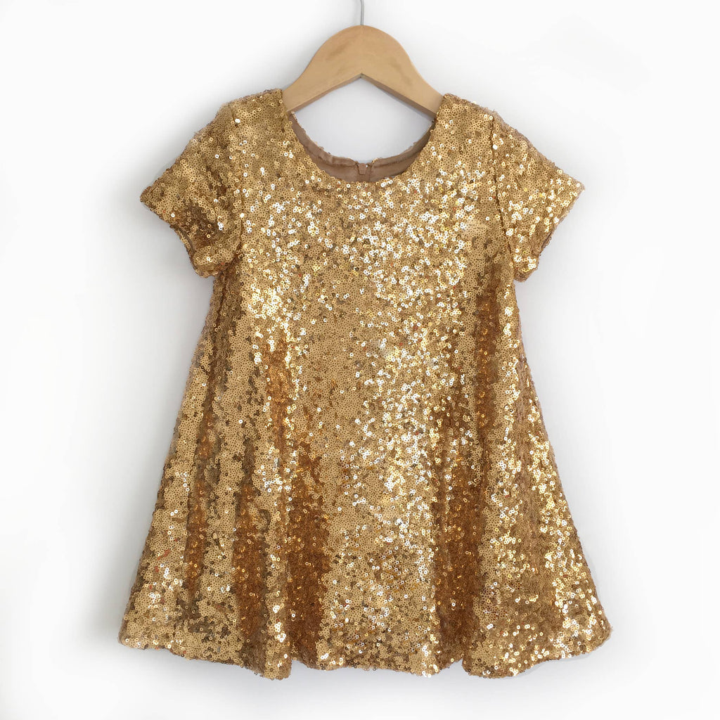 Carken Design - // Gold Sequin Dress