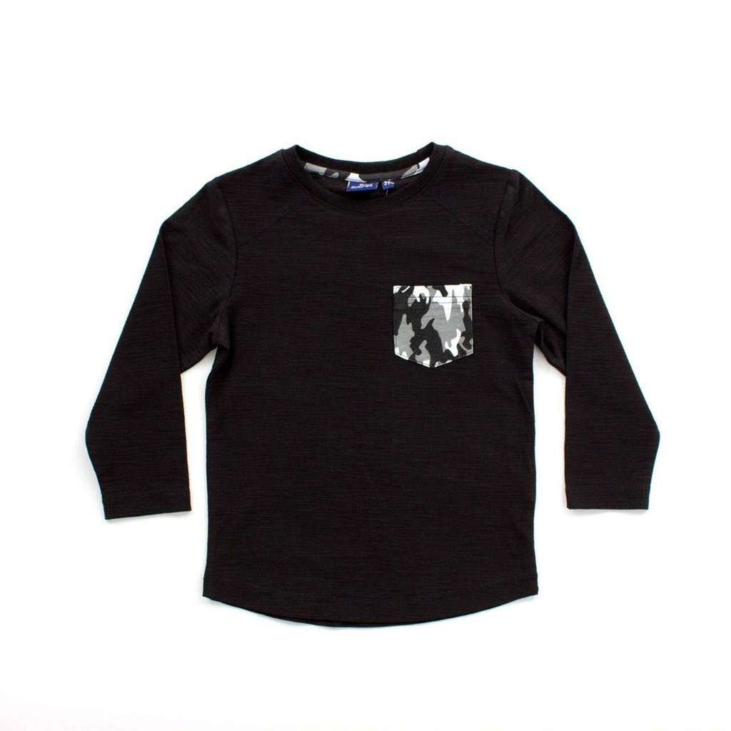 Bear Camp - Black Kendrick Toddler Long Sleeve Tee