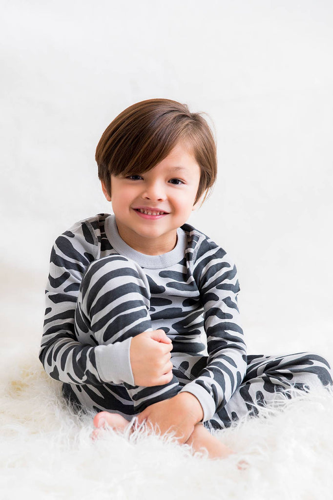 Skylar Luna- Zebra Long Sleeve Pajamas