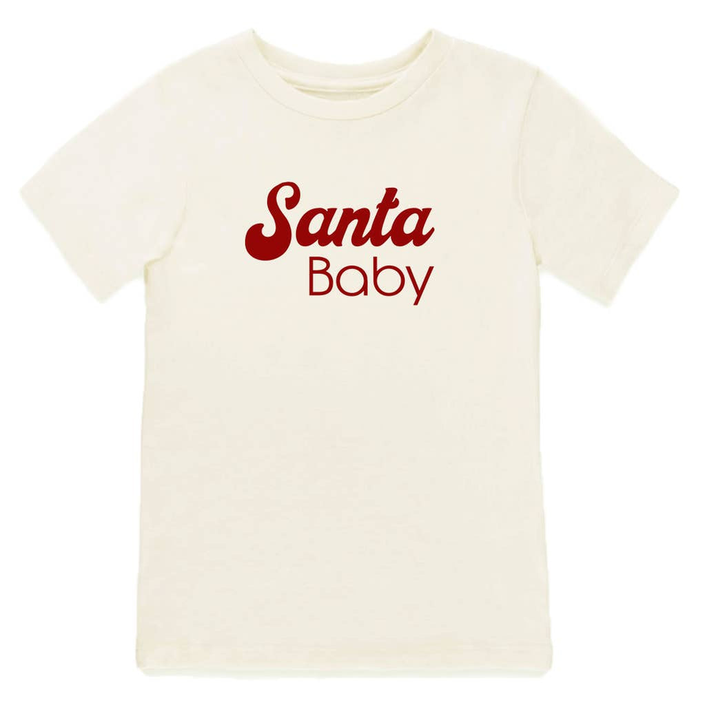 Tenth & Pine - Santa Baby Short Sleeve Tee