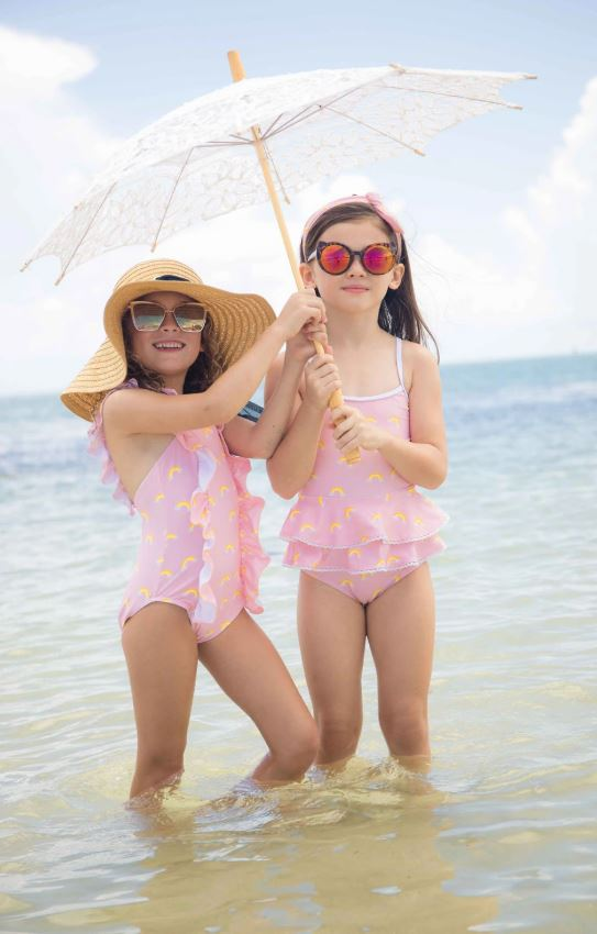 Blueberry Bay - Sandcastle Retreat One Piece Swimsuit