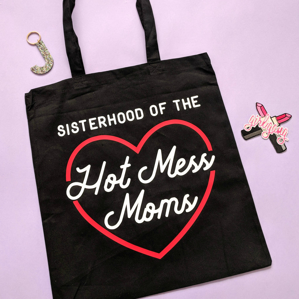 Love Frankie Studio - Hot Mess Moms Club Tote