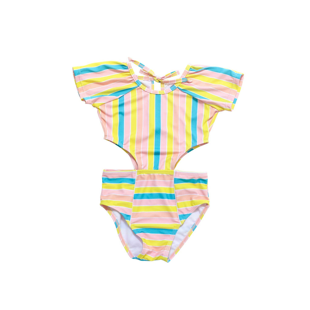 Blueberry Bay- Seahorse Cove One Piece Swimsuit
