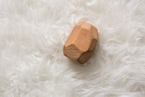 Clover and Birch - Maple Wood Rattle