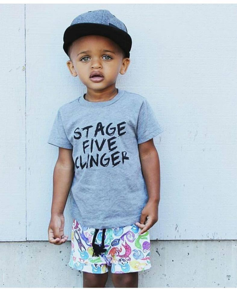 Little Adventurers Apparel - Stage Five Clinger Tee