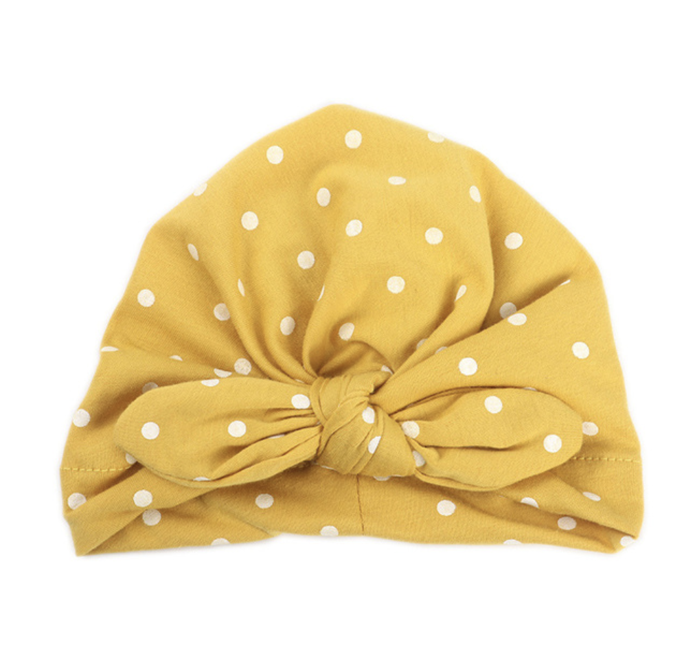 Emerson and Friends LLC - Baby Turban In Polka Dots