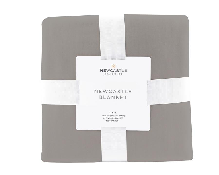 Newcastle Classics - Oversized Queen Bamboo Blanket - Newcastle Grey