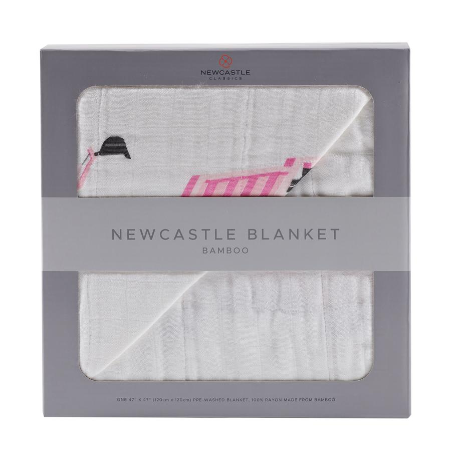 Newcastle Classics - Pink Digger and White Newcastle Blanket