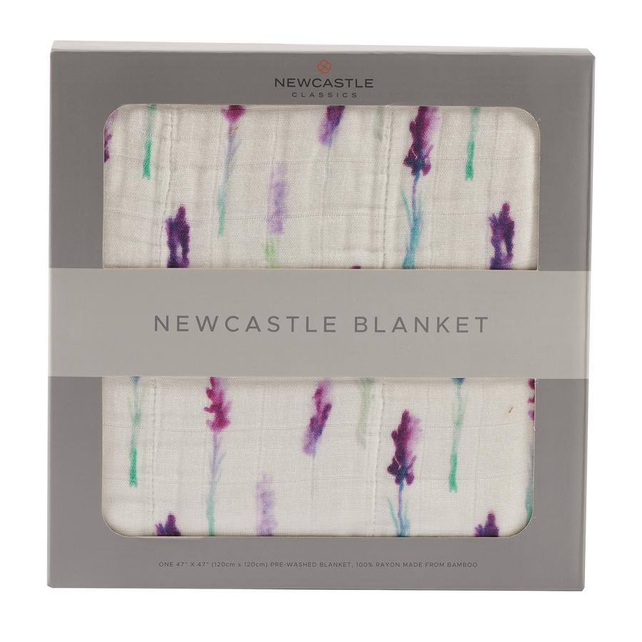Newcastle Classics - Lavender and White Newcastle Blanket