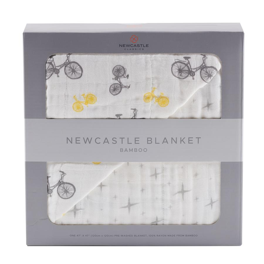 Newcastle Classics - Vintage Bicycle and Northern Star Newcastle Blanket