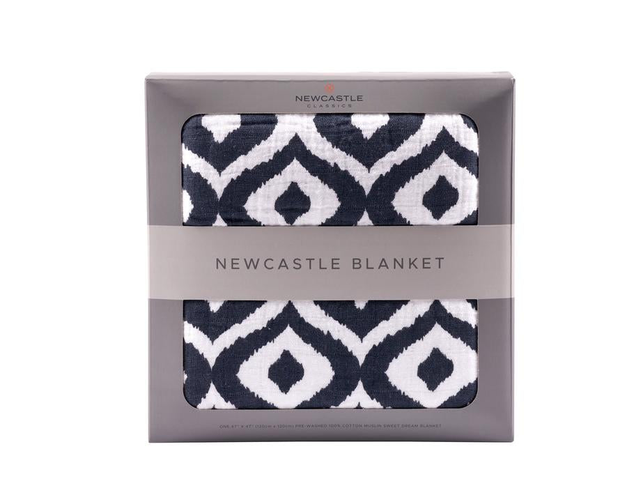 Newcastle Classics - Moroccan Blue Newcastle Blanket