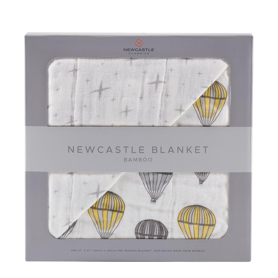 Newcastle Classics - Hot Air Balloon and Northern Star Newcastle Blanket
