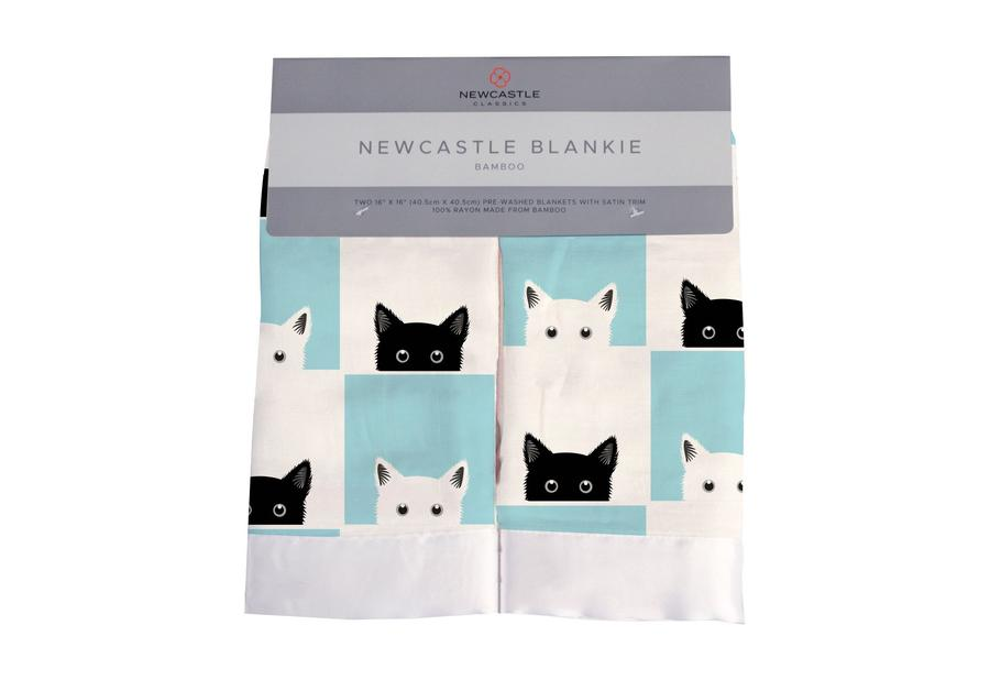 Newcastle Classics - Peek-A-Boo Cats Newcastle Blankie