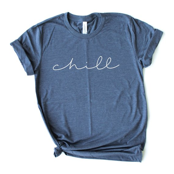 Overtype - Chill Crew Neck Shirt - Blue