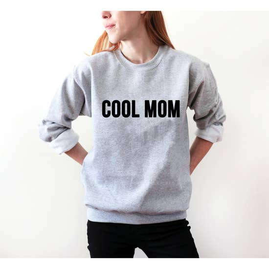 Saved by Grace Co. - Cool Mom Crew Neck Sweatshirt