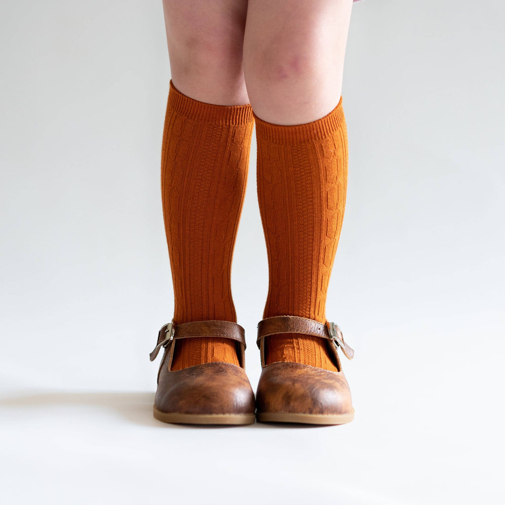 Little Stocking Co. - Pumpkin Spice Knee High Socks