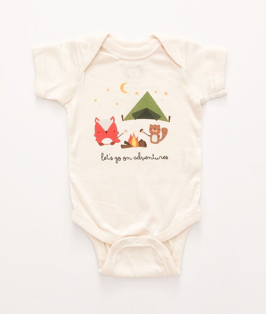 Le Trango Studios - Adventure Baby One Piece