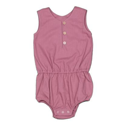 Young and Free Apparel - Plum Baby Romper