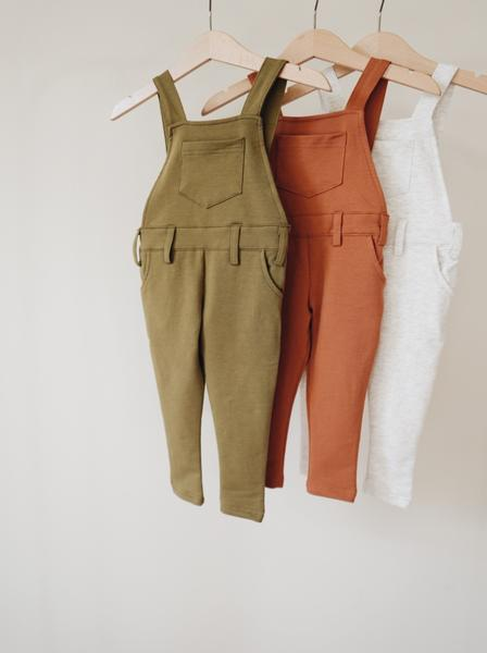 Orcas Lucille - Long Overalls - Olive