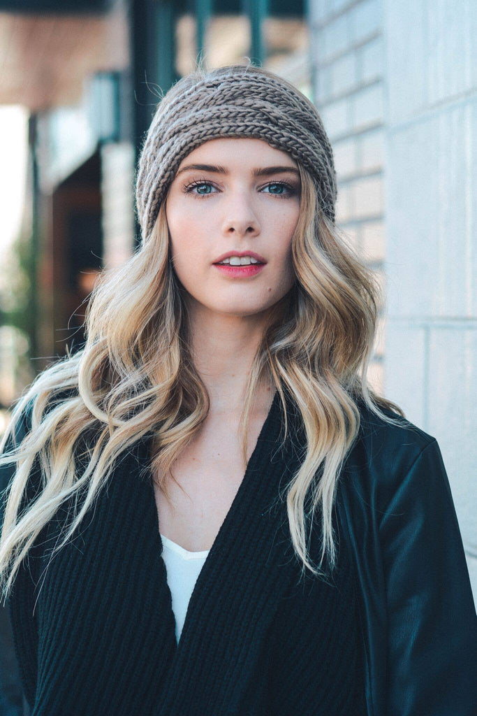 Leto Accessories - Cable Knit Headband