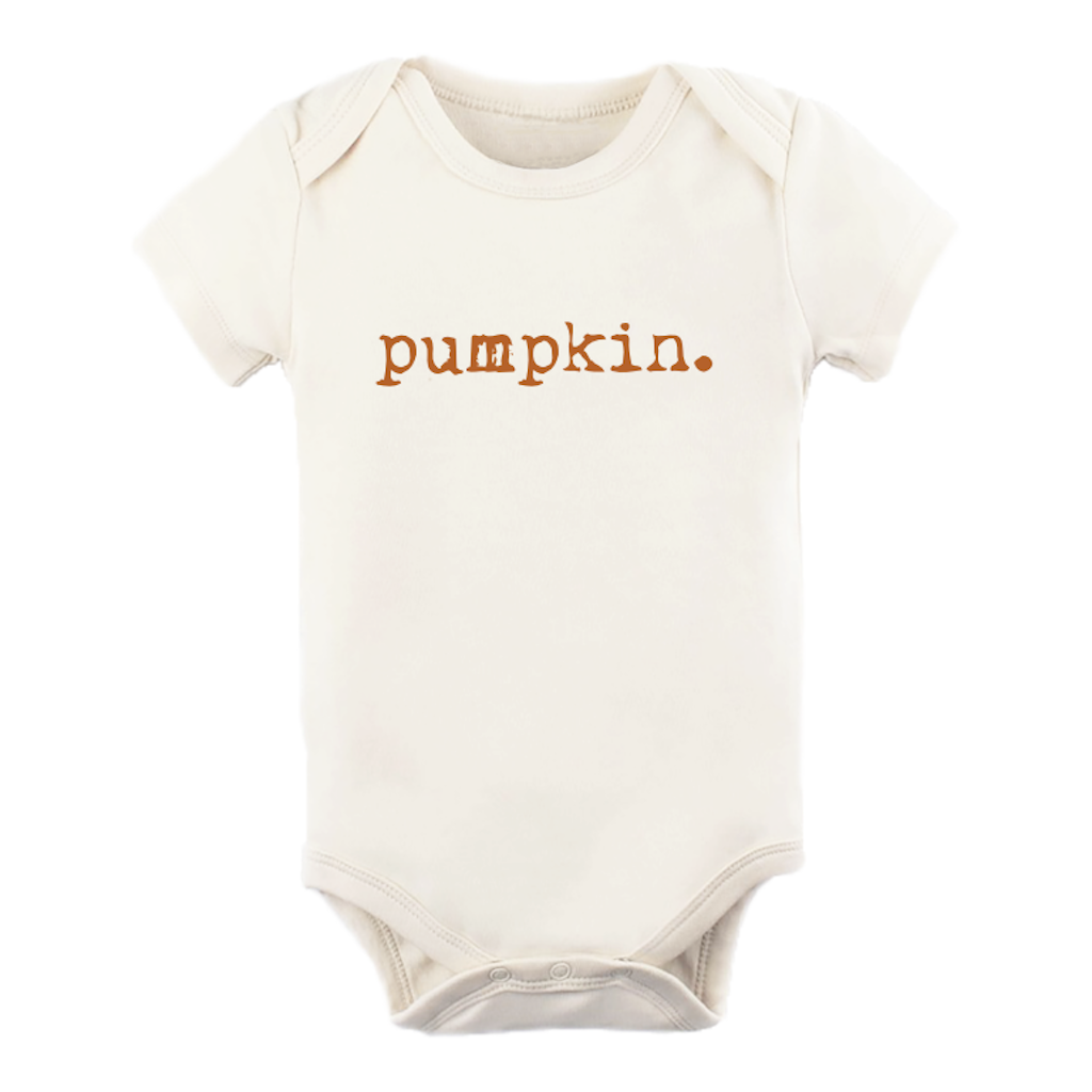 Tenth & Pine - Pumpkin Short Sleeve Bodysuit